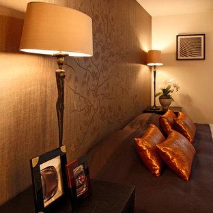 寝室 和洋のエクレクティックエレガンス