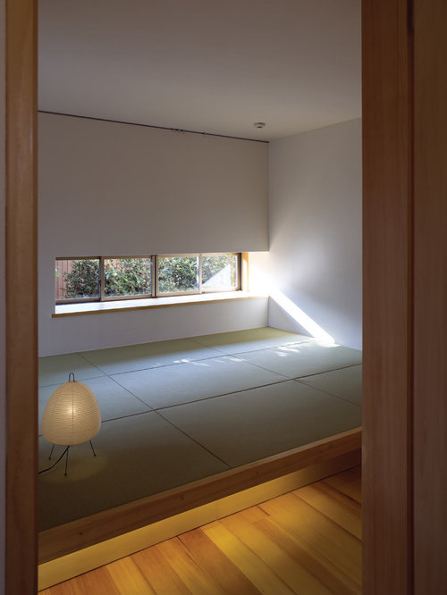 schlafzimmer mit tatami boden ideen design bilder houzz. Black Bedroom Furniture Sets. Home Design Ideas