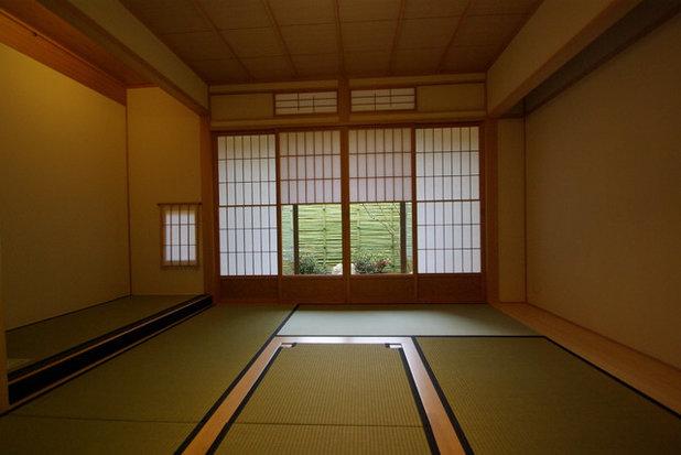 和室・和風 寝室 by 京都・滝本一級建築士事務所