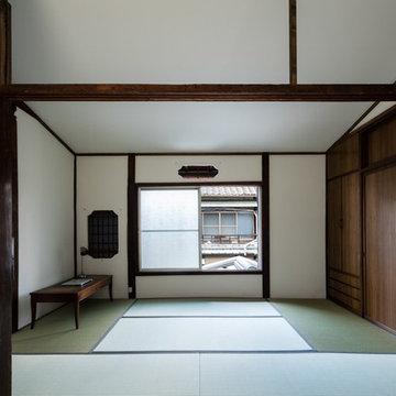 昭和小路の長屋  Rowhouse on Showa-koji St.