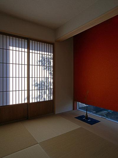 和室・和風 寝室 by アトリエハコ建築設計事務所