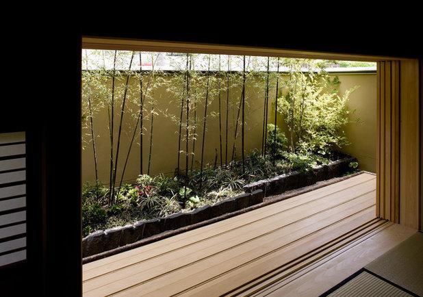 和室・和風 寝室 by マニエラ建築設計事務所
