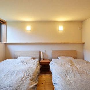 他の地域の和風のおしゃれな寝室のインテリア