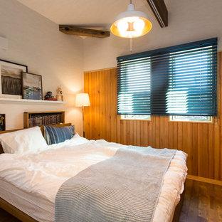 他の地域のアジアンスタイルのおしゃれな寝室