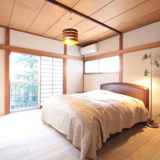 横浜の和風のおしゃれな寝室