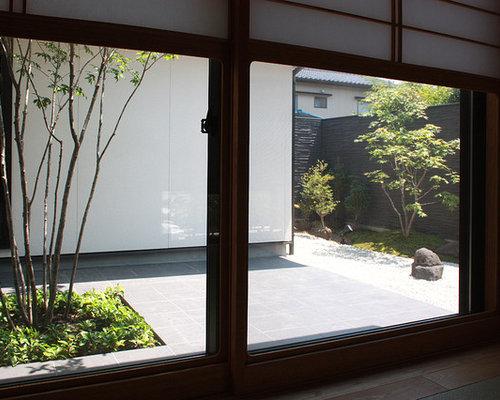 chambre d 39 amis avec un sol de tatami photos et id es d co de chambres d 39 amis. Black Bedroom Furniture Sets. Home Design Ideas