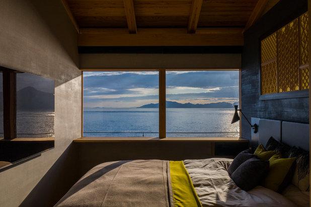 エクレクティック 寝室 by RON DESIGN