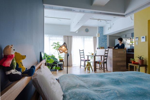 寝室 by スタジオ桜の木