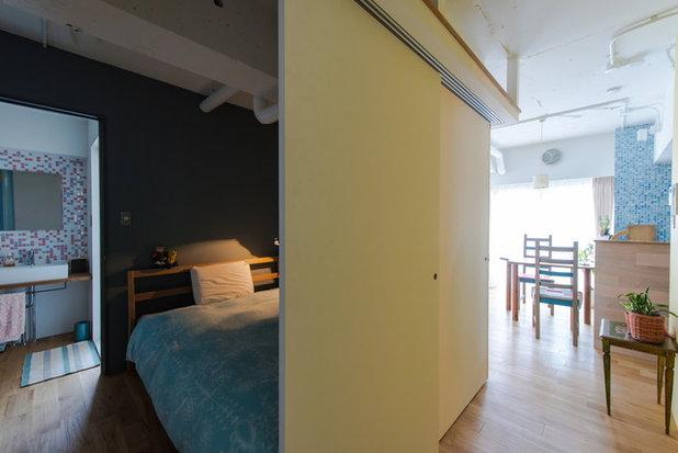 ベッドルーム by スタジオ桜の木