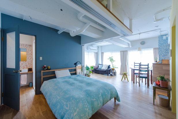 ビーチスタイル ベッドルーム by スタジオ桜の木