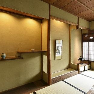 Idéer för ett asiatiskt sovrum, med tatamigolv