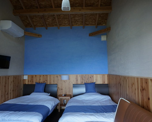 Blue bedroom design ideas renovations photos with for Bedroom designs plywood