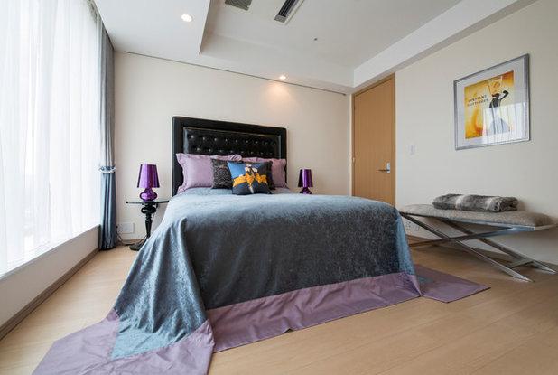エクレクティック 寝室 by Atelier FAVORI   アトリエ ファヴォリ
