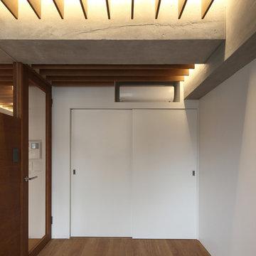 間接照明が美しいフルリノベーションルーム
