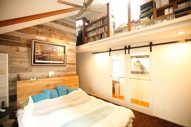 ビーチスタイル 寝室 by カリフォルニア工務店