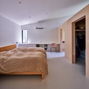 他の地域, のモダンスタイルの寝室の写真