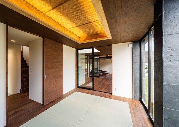 アジアン ベッドルーム by 一級建築士事務所haus