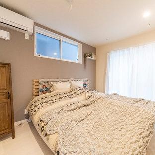 大阪のモダンスタイルのおしゃれな寝室のインテリア