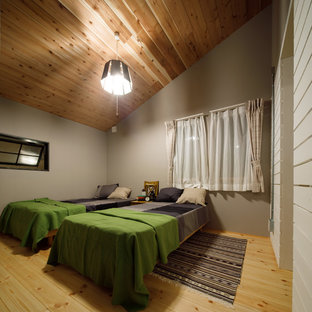 他の地域のビーチスタイルの寝室の画像
