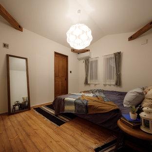 他の地域のミッドセンチュリースタイルのおしゃれな寝室