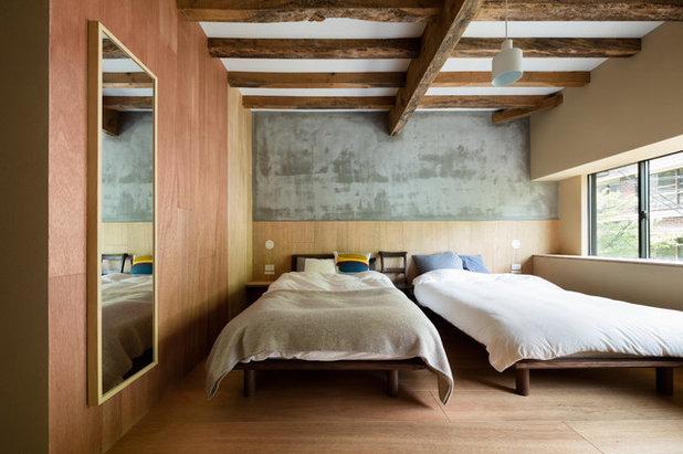 Asiatisch Schlafzimmer By PUDDLE Inc