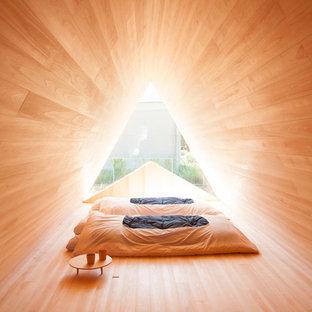 Cette image montre une chambre asiatique.