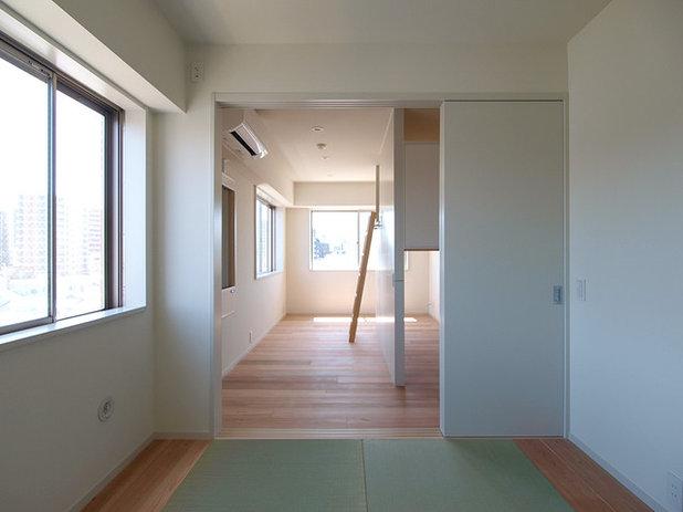 ミッドセンチュリー ベッドルーム by 志田茂建築設計事務所