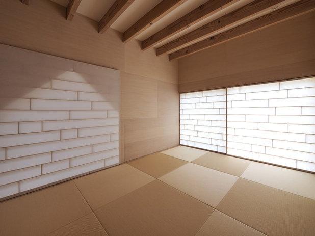 和室・和風 ベッドルーム by イシウエヨシヒロ建築設計事務所