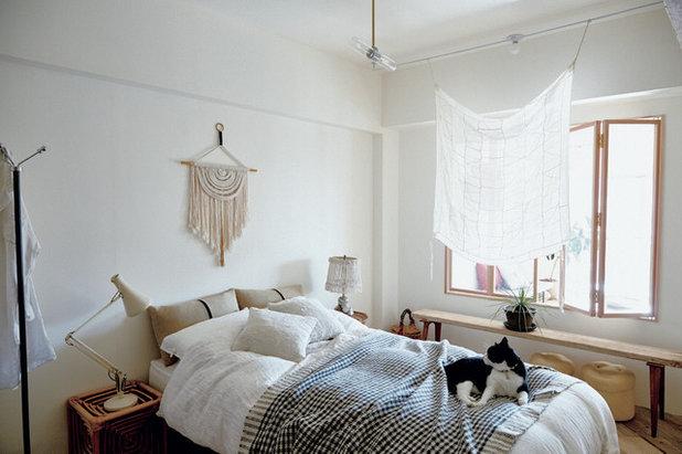 インダストリアル 寝室 by Interior Stylist Kanae Ishii
