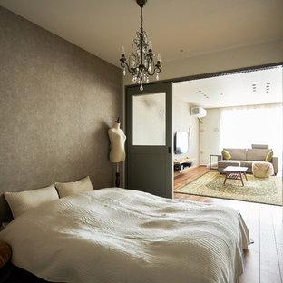名古屋の北欧スタイルのおしゃれな寝室