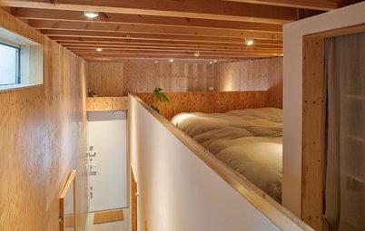 Houzz Tour: Ett helt hus på 72 kvadrat med olika våningsplan