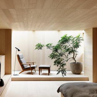 Idée de décoration pour une petit chambre asiatique.