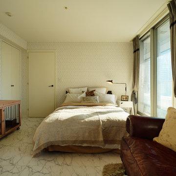 トラディショナル 寝室