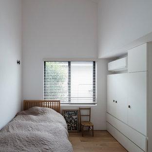 東京23区のラスティックスタイルのおしゃれな寝室のインテリア