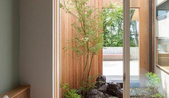 ROUNDSCAPE 自然を取り込みながら景色を創り出す軽井沢傾斜地の別荘