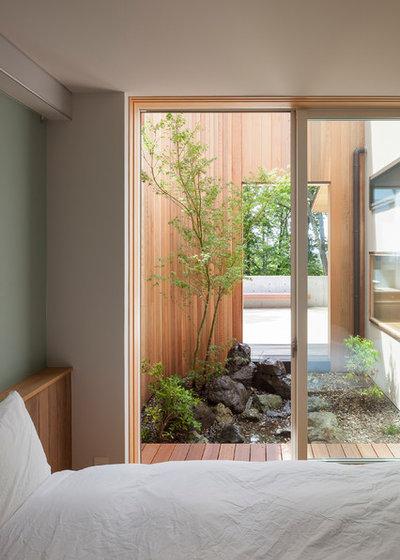 コンテンポラリー ベッドルーム by 内海聡建築設計事務所