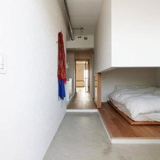 東京23区のコンテンポラリースタイルのおしゃれな寝室のレイアウト