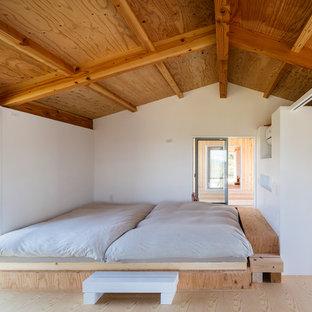 他の地域の北欧スタイルのおしゃれな寝室
