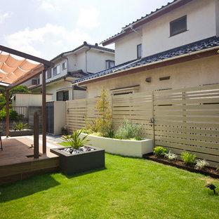 他の地域のラスティックスタイルのおしゃれな庭の写真