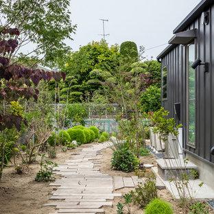 他の地域の北欧スタイルのおしゃれな庭・ランドスケープの写真