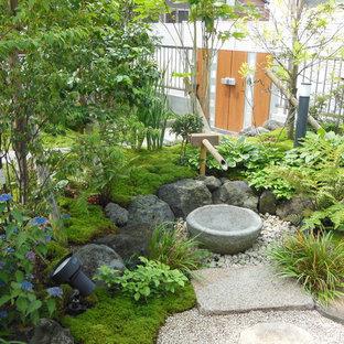 福岡のアジアンスタイルのおしゃれな前庭の写真