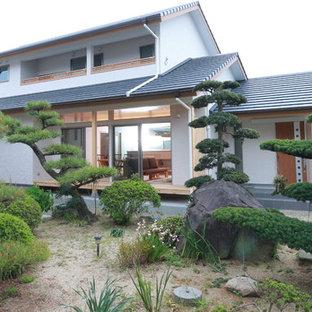 他の地域のアジアンスタイルのおしゃれな庭の写真