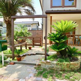 他の地域のトロピカルスタイルのおしゃれな庭 (日向) の写真