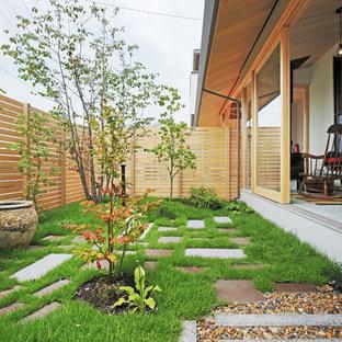 他の地域の和風のおしゃれな庭の写真