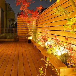 Inspiration pour un jardin asiatique.
