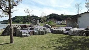 借景の庭。