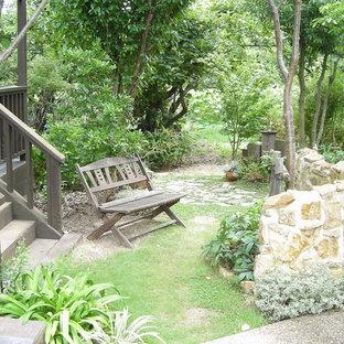 他の地域のヴィクトリアン調のおしゃれな庭 (日向) の写真