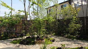 四季を感じる中庭
