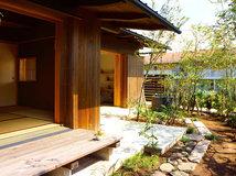Ein japanisches Holzhaus, modern interpretiert