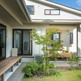 名古屋のエクレクティックスタイルのおしゃれな庭・ランドスケープの写真